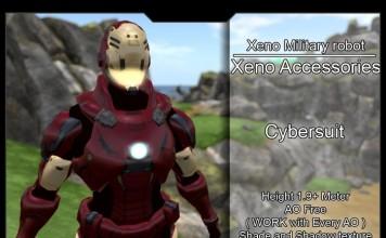 Cybersuit Mask 3 Full Avatar by KOV Design Studio (100 Copies Limited Promo) - Teleport Hub - teleporthub.com