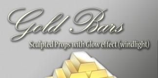 Gold Bars by Sooden Ren - Teleport Hub - teleporthub.com