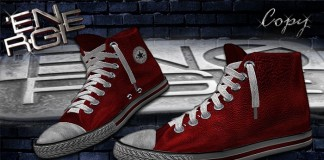 Red High Chucks Bag Shoes Gift by Energie - Teleport Hub - teleporthub.com