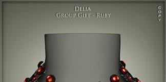 Delia Ruby Group Gift by Lazuri - Teleport Hub - teleporthub.com