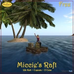 Life Raft by Miccie Inkpen - Teleport Hub - teleporthub.com