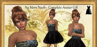 No More Noob Complete Avatar by The Little Black Dress - Teleport Hub - teleporthub.com