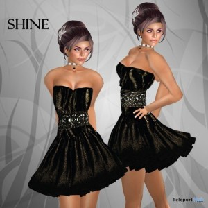 Shine Baby Doll Dress by DBL - Teleport Hub - teleporthub.com
