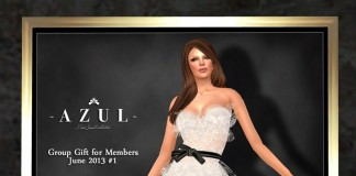 White Dress June 2013 Group Gift No 1 by -Azul- - Teleport Hub - teleporthub.com