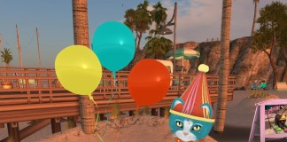 SL10B Birthday Cat by KittyCatS - Teleport Hub - teleporthub.com