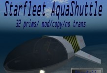 Starfleet AquaShuttle by Starfall Creations - Teleport Hub - teleporthub.com