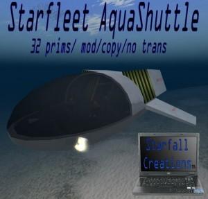 Starfleet AquaShuttle by Starfall Creations - Teleport Hub - teleporthub.com