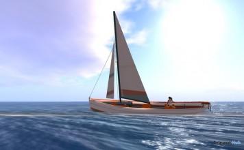 Babe Sailboat by Bade Boats - Teleport Hub - teleporthub.com