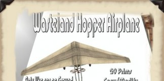 Wasteland Hopper Airplane Full Perm Scripts by Rule 62 - Teleport Hub - teleporthub.com