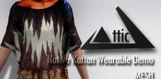 Native Kaftan Wearable Demo by ATTIC - Teleport Hub - teleporthub.com