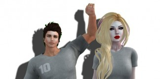 SL10B Mesh T Shirts for Female and Male by Shopkeeper Linden's Store - Teleport Hub - teleporthub.com