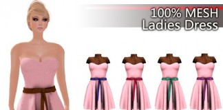 Ladies Dress 5 colors Fat Pack Limited Time Promo by P.Fashion - Teleport Hub - teleporthub.com