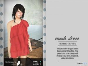 Mesh Dress Petite Cerise by lulu Design - Teleport Hub - teleporthub.com