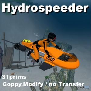 Hydrospeeder K-10 Personal Submarine by Michie Yokosuka - Teleport Hub - teleporthub.com