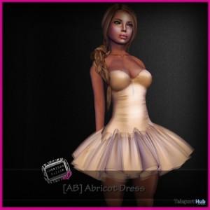 Abricot Dress Promo by [ AMERICAN BAZAAR ] - Teleport Hub - teleporthub.com
