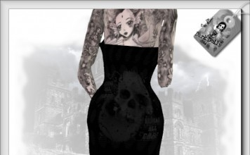 Hope & Care Dress with Mesh Boots by DarkDolls - Teleport Hub - teleporthub.com