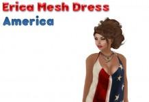 Erica Mesh Dress America by Glamorize - Teleport Hub - teleporthub.com