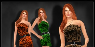 Female Outfit July 2013 Group Gift by -Azul- - Teleport Hub - teleporthub.com