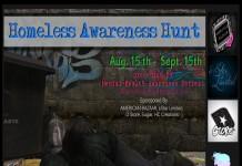 Homeless Awareness Hunt - Teleport Hub - teleporthub.com