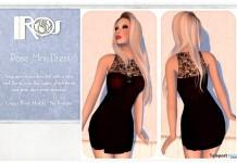 Rose Mini Dress Promo by IROS - Teleport Hub - teleporthub.com