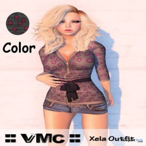 Xela Outfit Pink by VMC - Teleport Hub - teleporthub.com