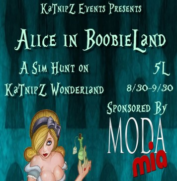 Alice in Boobieland Hunt - Teleport Hub - teleporthub.com