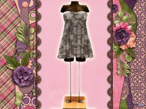 Honey Dress AR2 by Cambridge House - Teleport Hub - teleporthub.com