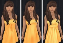 Orange Dresses by Simplicity - Teleport Hub - teleporthub.com