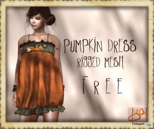 Pumpkin Dress by !Go! - Teleport Hub - teleporthub.com
