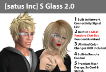 [satus Inc] S Glass 2.0 - Teleport Hub - teleporthub.com