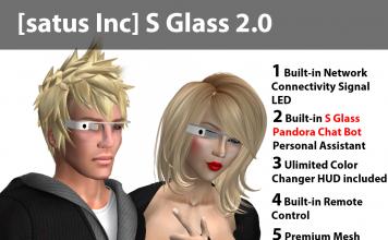 [satus Inc] S Glass 2.0 - Teleport Hub - teleporthub.com