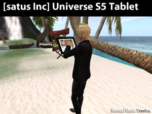 [satus Inc] Universe S5 Tablet - Teleport Hub - teleporthub.com