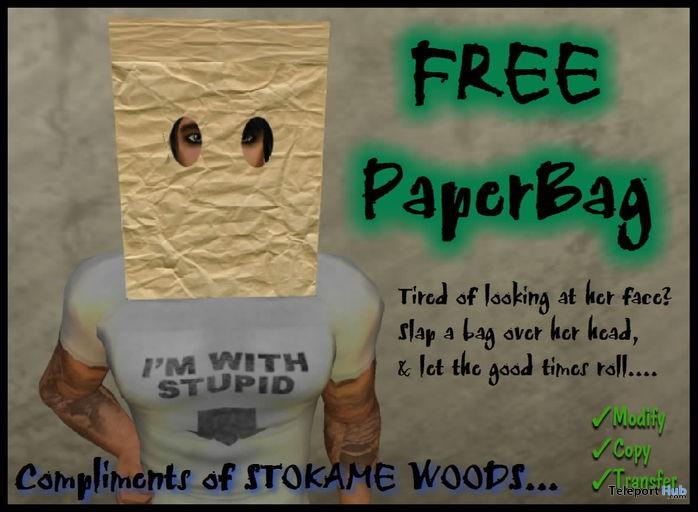 PaperBag Goes Over Head by Damon Okame - Teleport Hub - teleporthub.com