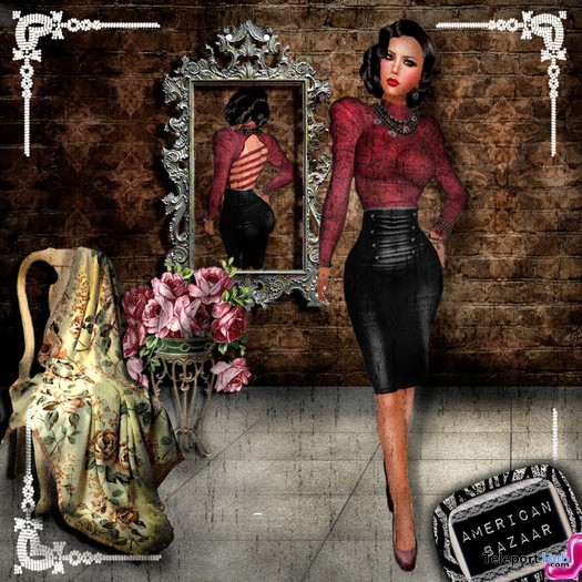 Vintage Outfit Promo by [ AMERICAN BAZAAR ] - Teleport Hub - teleporthub.com