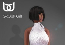Elle Dress Silver Promo by BeloD - Teleport Hub - teleporthub.com