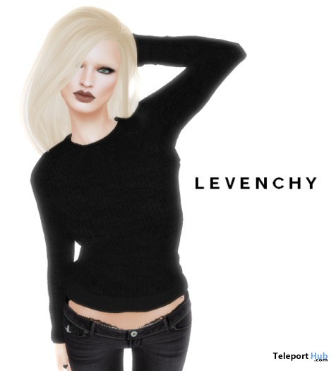 Noir Sweater Wearable Demo by LEVENCHY - Teleport Hub - teleporthub.com