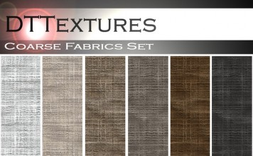 Coarse Fabrics Texture Set by DoiT Textures - Teleport Hub - teleporthub.com