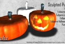 Sculpted Pumpkin Full Perm by FLECHA - Teleport Hub - teleporthub.com