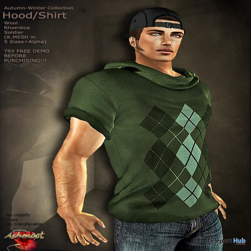 Autumn Winter Collection Hood Shirt For Male and Female Group Gift by AsHmOoT - Teleport Hub - teleporthub.com