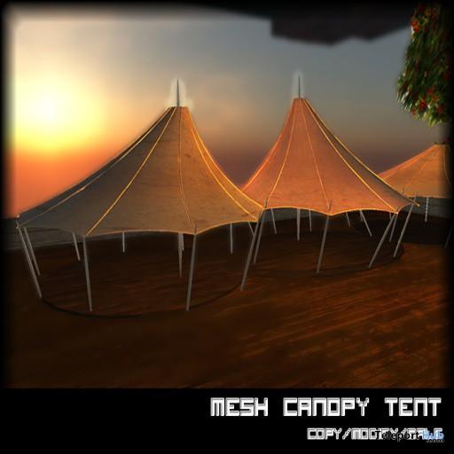 Canopy Tent by Xray Haller - Teleport Hub - teleporthub.com