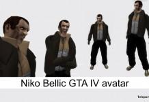 Niko Bellic GTA IV Avatar by ANTIFA STYLE - Teleport Hub - teleporthub.com