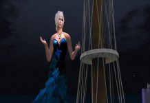 Windswept Leaves Sea 2 Gown Group Gift by PARIS Metro Couture - Teleport Hub - teleporthub.com