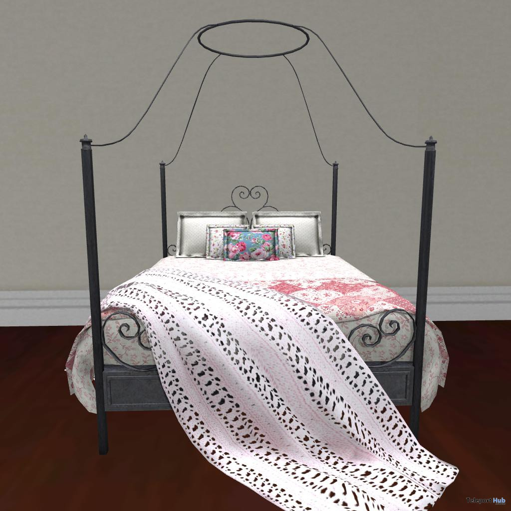 Antique Bed PG Edition Promo by Warm Animations - Teleport Hub - teleporthub.com