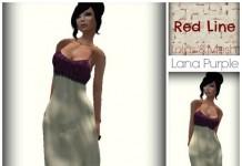 Lana Purple Gown Dress 5 Sizes 1L Promo by Red Line - Teleport Hub - teleporthub.com