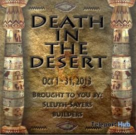 Death In The Desert Hunt - Teleport Hub - teleporthub.com