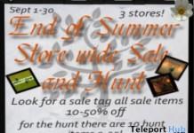 End Of Summer: Sale & Hunt - Teleport Hub - teleporthub.com