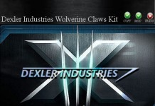 Wolverine Claw Kit by Dexler Industries - Teleport Hub - teleporthub.com