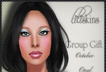 Female Skin October 2013 Group Gift by liliskins - Teleport Hub - teleporthub.com