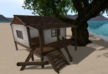 5 Prims Old Beach Cottage 9L Promo by Feu Quin - Teleport Hub - teleporthub.com