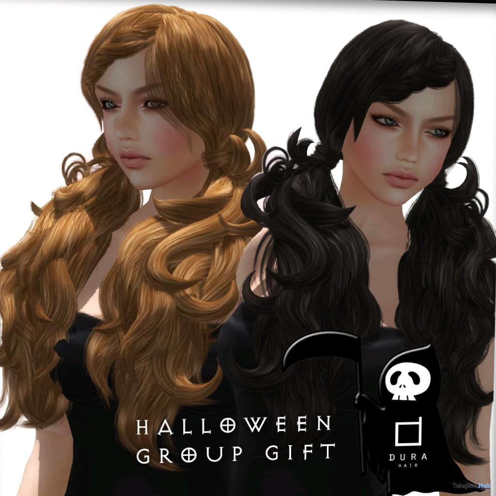 Female Hair Halloween Group Gift by DURA - Teleport Hub - teleporthub.com